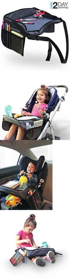 Cup Holders and Snack Trays 180913: Smart Stroller Tray Car Seat Travel Toddler Kids Baby Child Organizer Kid Toys -> BUY IT NOW ONLY: $46.95 on eBay!