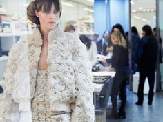 """Chanel Couture Goes """"Green"""" For Spring 2016 With Eco-Friendly Loo..."""