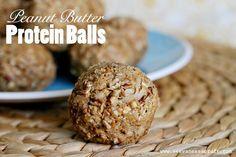 Peanut Butter Protein Balls websized