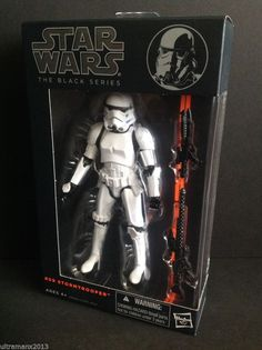 Star Wars The Black Series 6-Inch Action Figures #09 Stormtrooper, Wave 4 #Hasbro
