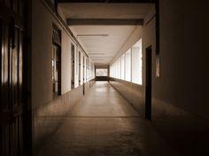 An empty corridor