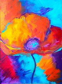 Paint Nite - Colorful Flower