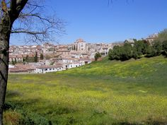 This is a wonderful, but small village called Chinchon, south of Madrid.  History dates it back before the Roman occupation (when the Morrocan occupation occurred).  Beautiful small city