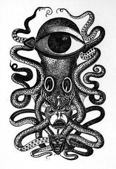 Un monstre tentaculaire signé Max Ernst