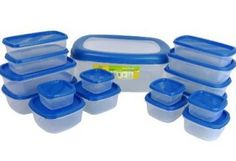Princeware SF Packing Container, 17-Pieces, Blue At Rs.333
