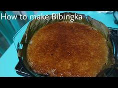 Biko (Sticky Rice cooked in coconut) with coconut curd - YouTube