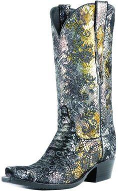 Lucchese Precious Metal Boot