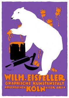 Uzarski (Adolf, DE) 1919 Wilhelm Eisfeller Grafische Kunstanstalt Köln Anzeige