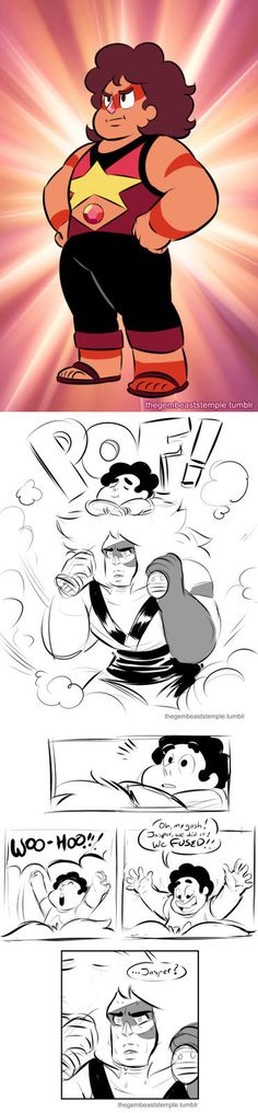 Jasper and Steven - comic