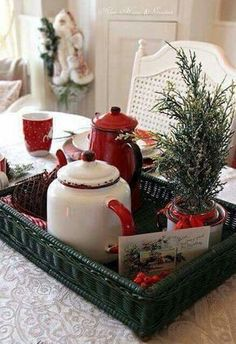 Christmas Tea Time