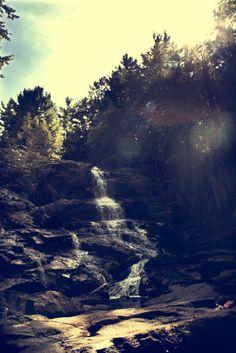 Waterfall in upstate New York