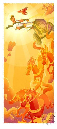 Apollo Mythology, Fire Art, Abstract, Artwork, Crisp, Apollo, Greek, Greek Mythology, Dios