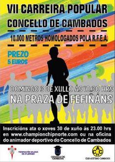 CORES DE CAMBADOS: VII CARREIRA POPULAR CONCELLO DE CAMBADOS