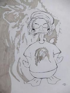 Rasta Duck designed by MrKmeleon