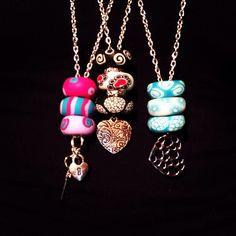 Collane con perle in fimo stato da Mauty Handmade €10 mautyhandmade@hotmail.it