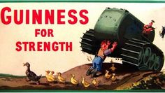 Guinness for Strength poster Vintage Advertising Posters, Vintage Advertisements, Vintage Ads, Vintage Posters, Vintage Type, Guinness Advert, Best Ads, Old Ads, Best Beer