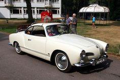 White Karmann Ghia