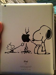 SVG Files for Cricut Explore and other cutting machines. Snoopy & Woodstock decal for ipad. Cricut Explore Projects, Cricut Explore Air, Cricut Air, Cricut Vinyl, Vinyl Decals, Kirigami, Snoopy, Stencils, Cricut Cuttlebug