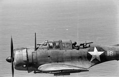 Dauntless SBD (Scout Bomber Douglas) monoplanes served during WWII with US Marine Corps, Army and Navy air squadrons.