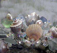 Sea Goddess Tiara Close up, via Flickr.