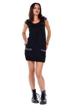 Sommerkleid Heidi schwarz mit Schmetterlingen Classic, Black, Dresses, Fashion, Summer Recipes, Curve Dresses, Derby, Vestidos, Moda
