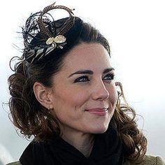 "Kate Middleton Fascinator.  So ""yes""!"