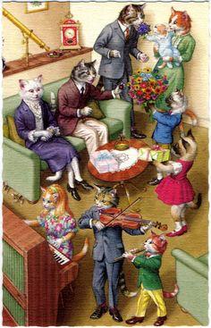 Yet Another Cat Mitzvah - Tartuffe's Folly