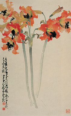 Zhao Shao Ang (1905-1998) simple perfection.  art is really about the elegant solution to two dimensional representation of an idea or an ideal.  this is art