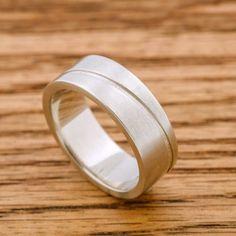 awesome vancouver wedding Men's wide wave band in white gold. Only at #eradesignjewellery #ring #ringsofinstagram #mensfashion #men #dapper #vancity #eastvan #customring #customdesign #handmade #handcrafted #jewelrydesigner #cadjewelry #3dprinting #shopsmall #shoplocal #madeinvancouver by @eradesignjewellery  #vancouverwedding #vancouverweddingjewellery #vancouverwedding