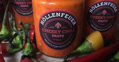 Chili-Grundstock - Cheeky Chili-Paste - Höllenfeuer (nichts für Feiglinge!)
