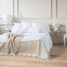WAVY EDGE VELVET CUSHION COVER AND QUILT - Quilts - Bedroom   Zara Home United Kingdom