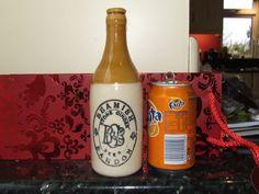 Old Irish Cork Ginger Beer Bottle Bandon Jug Pub Bar Pitcher | eBay