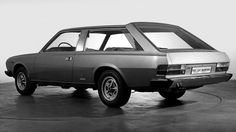 OG | 1975 Fiat 130 Maremma | Derived from the Fiat 130 coupé and designed by Pininfarina. This unique prototype was used by the Agnelli family.