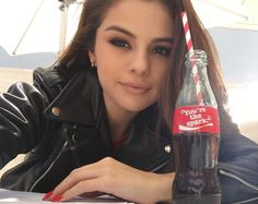 Big news: this year, you can #ShareaCoke with @SelenaGomez. And she's taking over our Snapchat channel right now!  Add CocaCola on Snapchat for a behind the scenes peek at her @RevivalTour rehearsal.