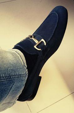 SSBR blue loafers. (Foto Tonton)