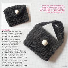 Snailmail Magazine (Nederlands blog): doe het zelf. Gehaakt envelopje