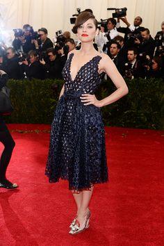 Marion Cotillard de Dior - Gala MET 2014 - #Joyas y #celebrities en @BijouPrivee