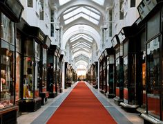 Burlington Arcade is a classic throwback to Mayfair's good old days