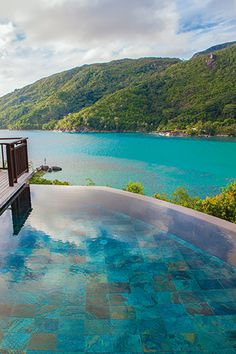 Turquoise Ocean views from Constance Ephelia, Seychelles