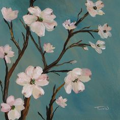 Paintings Of Dogwood Trees - Dogwood By Torrie Smiley Flower Painting Canvas Canvas Art Painting My World Painting A Dogwood Tree In Three Easy Steps Easy Watercolor Paintings Of . Easy Flower Painting, Flower Painting Canvas, Flower Art, Painting & Drawing, Watercolor Paintings, Canvas Art, Tree Paintings, Canvas Paintings, Small Canvas