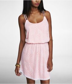 cute and simple burnout dress #Summer #style