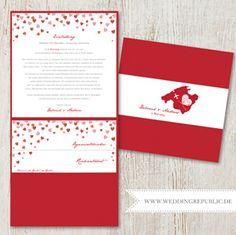 Individuelle Gestaltung Ihrer Hochzeitskarten    Hochzeitseinladung   Wedding Invitation   Save the date