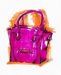 sketch-à-porter celine bag