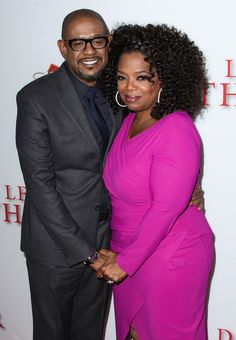 "Oprah and Forest Whitaker at ""The Butler"" premiere in L.A."