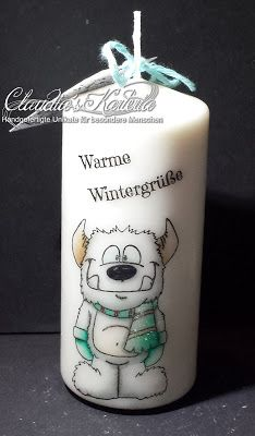 Claudia's Karteria Candle Lanterns, Candles, Blog, Snoopy, Crafts, Boxes, Bricolage, Handmade, Creative