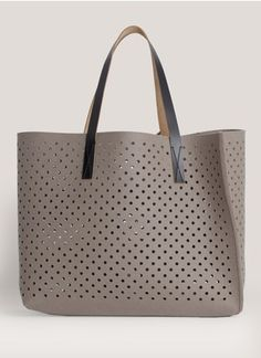 Oversized laser-cut wool-felt Bag Tote Shopper by Marni