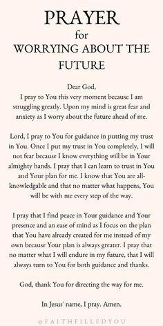 Prayer Scriptures, Bible Prayers, Faith Prayer, Bible Verses Quotes, Faith Quotes, Prayer For Peace, Trust In God Quotes, Prayer Of Hope, Bible Verses About Anxiety