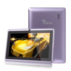 Dragon Touchฎ 7'' Purple Google Android 4.2 8GB Jelly Bean Allwinner A13 Tablet MID Cortex A8 1.2GHz, Capactive...