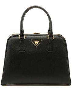 Prada Saffiano Leather Top Handle Bag