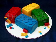 LEGO inspired birthday cake 6 LEGO Inspired Birthday Cakes For The Kid in All of Us